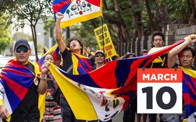 10 March rallies – Tibetan Uprising Day