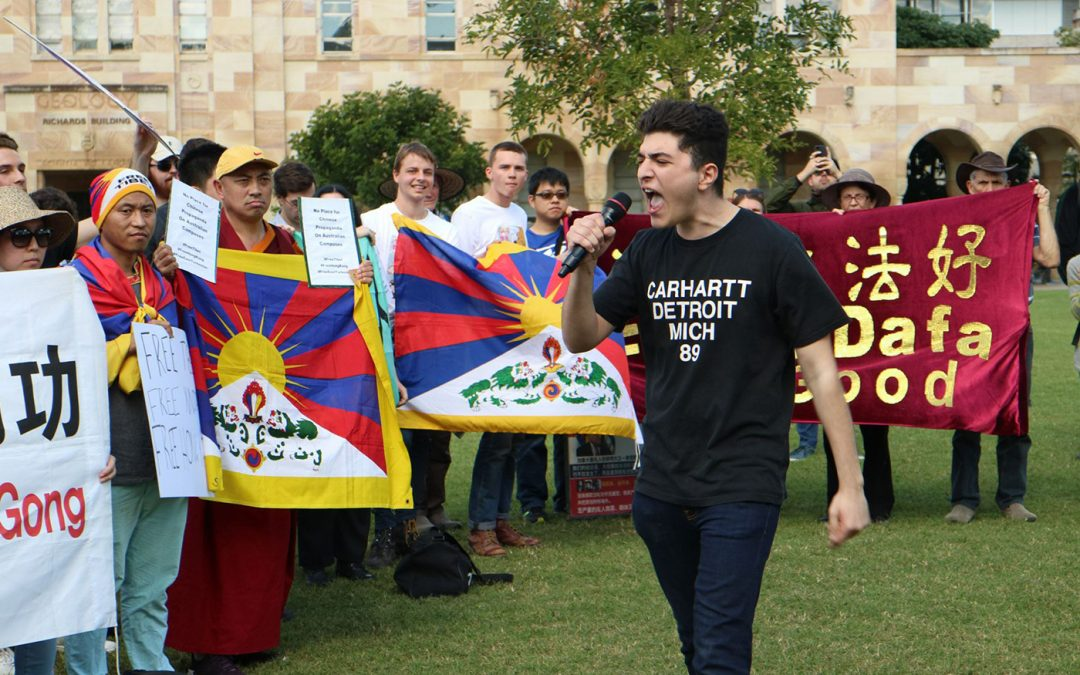 University of Queensland must reverse its decision to suspend Drew Pavlou