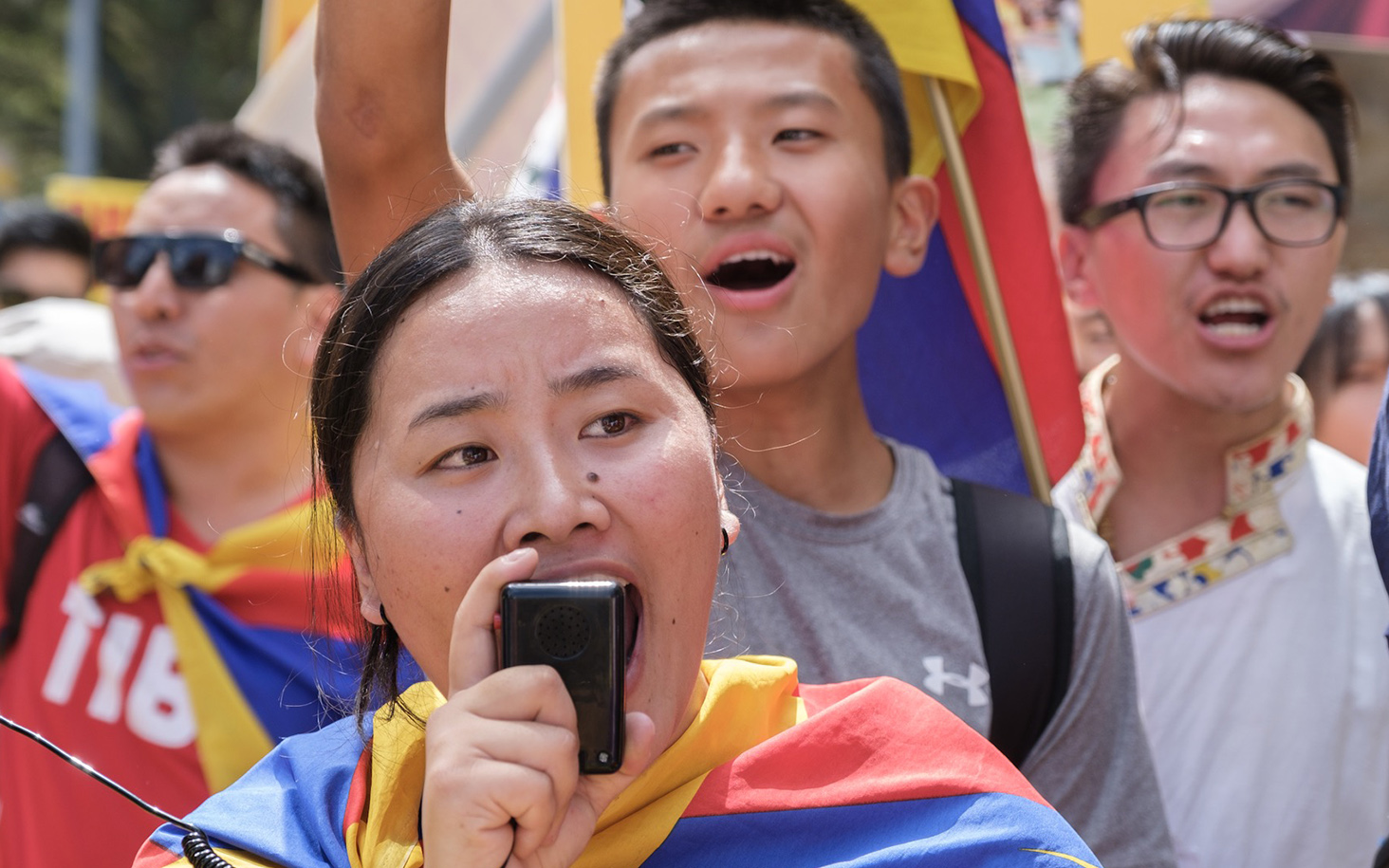 10 March Tibetan Uprising Day Rallies