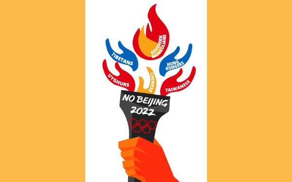 Australia joins global 'No Beijing 2022' protests on 23 June