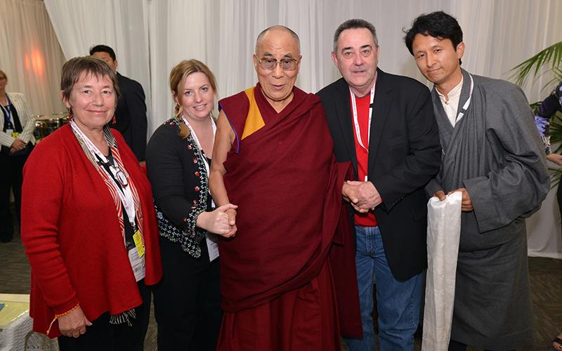 ATC's Zoë Bedford is dedicating her birthday to Tibet